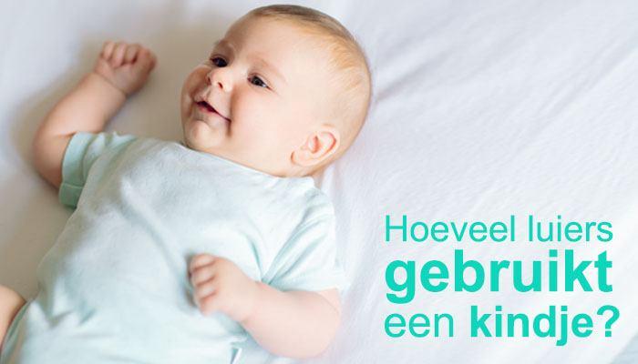 Hoeveel luiers gebruikt een kindje eigenlijk?